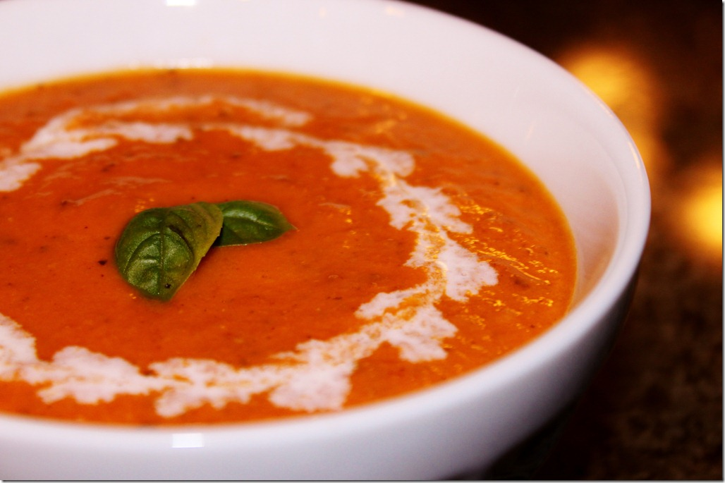 Tomato Cream Soup – The Moonlit Kitchen