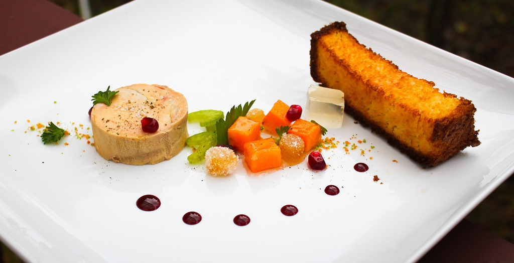 foie gras torchon vs terrine foie gras torchon with duck foie gras ...