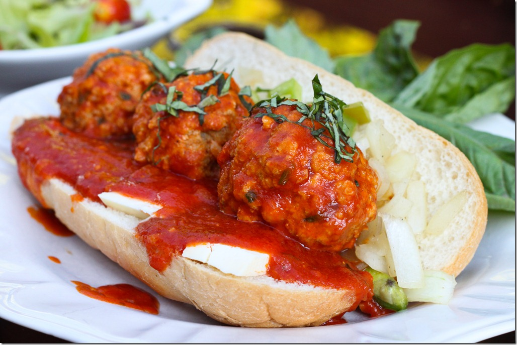 Italian Meatball Sandwich « The Moonlit Kitchen